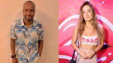 Thiaguinho e Bruna Griphao se beijam em camarote de Carnaval, diz coluna