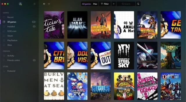 GOG Galaxy 2.0 adds official Epic Games Store integration