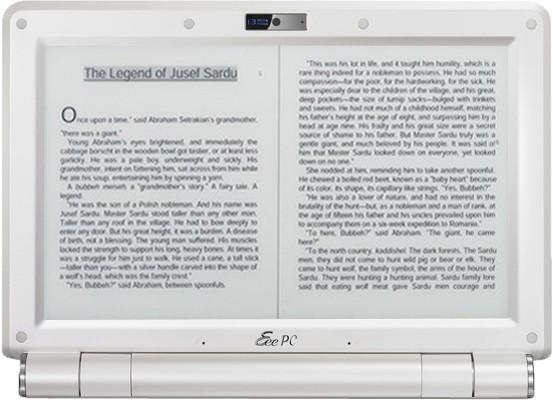 ASUS to launch 3G, WiMAX-equipped e-book readers by March, 2010?
