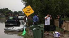 Flash floods punish Texas border towns, Gulf coast area