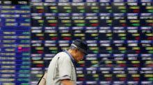 Asia shares camp near peaks, markets ponder Xi's speech