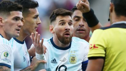 Messi facing two year ban after 'corruption' comments