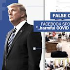 Facebook, Twitter remove Trump video over false claim about children and coronavirus