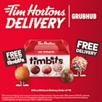 Tim Hortons® U.S. Partners with Grubhub for Delivery in Select Markets