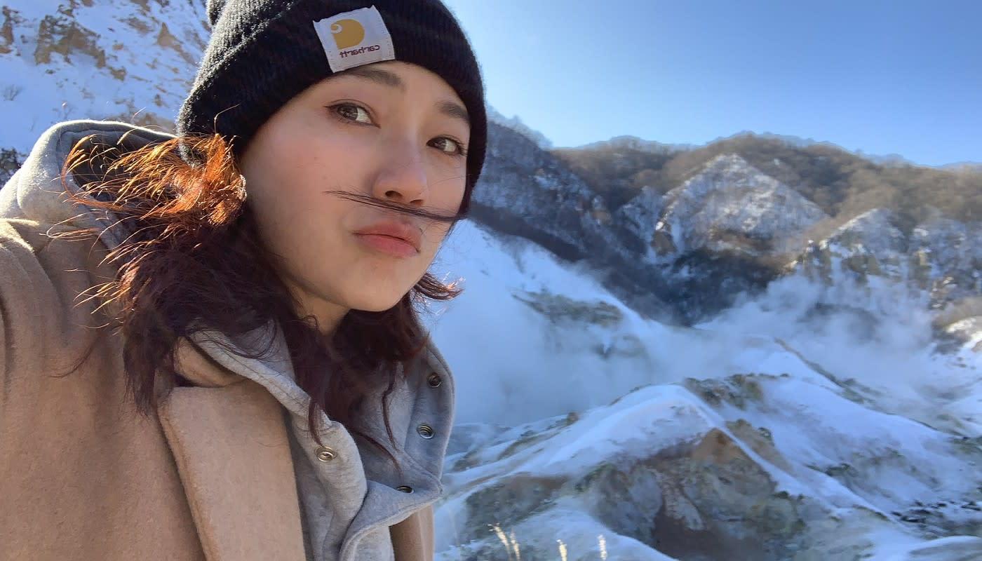 【明星旅遊趣】帶馬克赴北海道體驗滑雪 馬克媽媽先學如何正確摔倒!