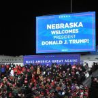 Hundreds of Trump fans were stranded in freezing weather after his Omaha rally
