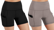 'Very flattering' anti-chafing shorts are now less than $20 — and they smooth your tummy, too