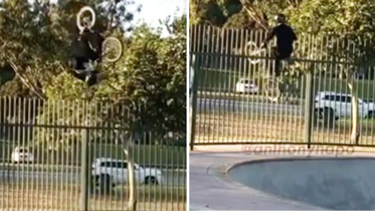 BMX rider 'lucky to be alive' after horror stunt mishap