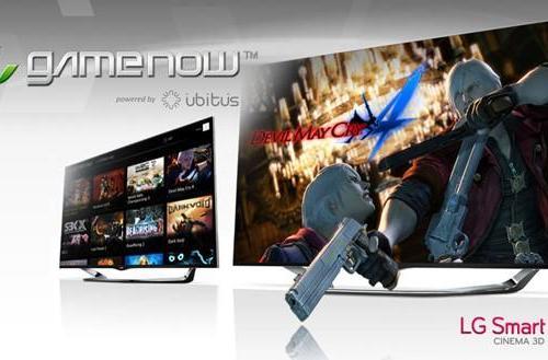 LG brings Ubitus' GameNow cloud gaming to Smart TVs in the US
