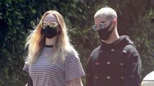 Sophie Turner and Joe Jonas Enjoy a Stroll During First Outing Since Welcoming Daughter Willa
