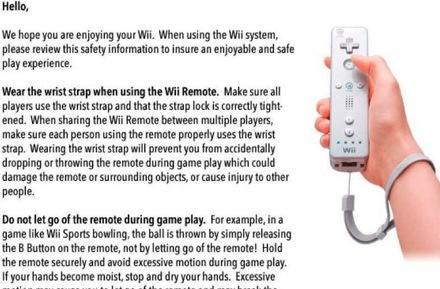 Nintendo addresses Wiimote damage issues: sends eMail