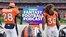 Fantasy Football Podcast: Strange fantasy takes from the upside-down and 2019 NFL divisional futures