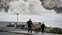 Storm Brendan: Britain battered by 80mph winds as airlines forced to divert flights