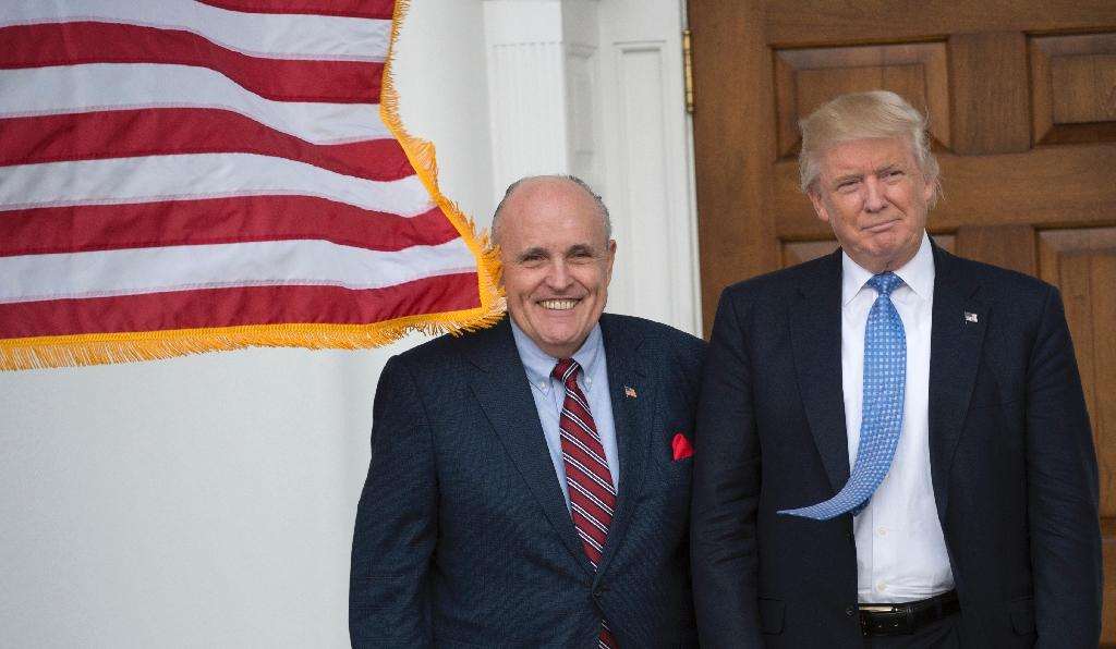"""President-elect Donald Trump (R) asked former New York City Mayor Rudy Giuliani to share """"his expertise and insight as a trusted friend concerning private sector cyber security problems and emerging solutions"""""""