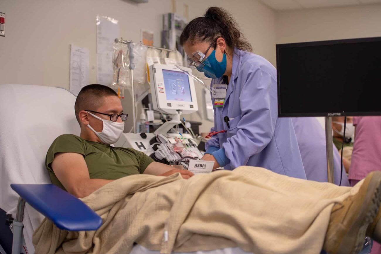 Hundreds of Veterans to Receive Convalescent Plasma in VA Test
