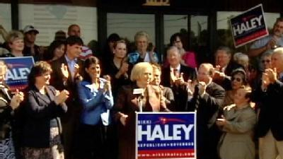 Campbell Widow Endorses Haley