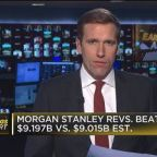 Morgan Stanley beats Street on top and bottom line