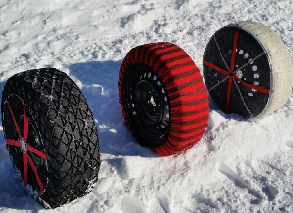 tire socks an alternative to snow tires. Black Bedroom Furniture Sets. Home Design Ideas