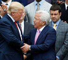 Trump 'surprised' Patriots owner Kraft was charged in prostitution probe