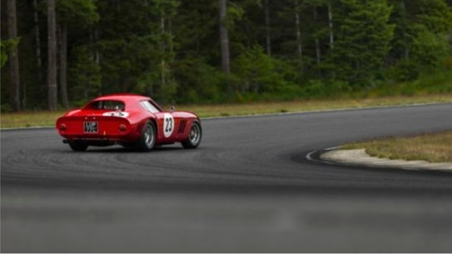 V12-powered Ferrari 250 GTO screaming to glory