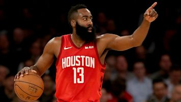Harden torches Knicks in another historic night