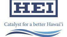 HEI Declares Quarterly Dividend Of $0.32 Per Share