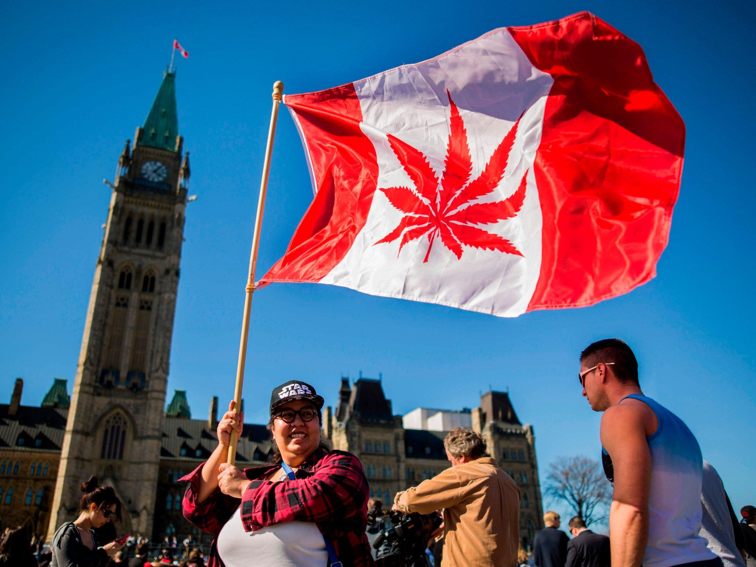 """Canada is set to become the largest country in the world to legalise marijuana for recreational use this week, following Uruguay's lead earlier this year. A key campaign pledge by the country's Liberal prime minister Justin Trudeau before his 2015 election, he argued that it would reduce the estimated C$6bn (£3.5bn) in profits from cannabis sales pouring into his country's black market. However, the law will vary in each of the country's 10 provinces and three territories as each will be able to interpret the rules differently.Here is everything you need to know about the landmark legislation. What are the new marijuana laws in Canada?The new legislation will allow the drug to be purchased from officially recognised shops.As a result it will still be illegal for someone to sell the drug to their friends, even in small amounts, if they do not have a licence.The minimum age for use will be 18 or 19 – a decision which will be left to the provinces and territories to decide locally.Giving the drug to a minor will remain a crime and could result in a maximum sentence of 14 years imprisonment.In most provinces, people will be allowed to possess up to 30 grams of marijuana. But this will differ across the country. People in Quebec for example, will be allowed to have up to 150 grams at home. Which other countries have legalised marijuana?The only other country to fully legalise recreational marijuana is Uruguay, which introduced the law in 2013.The drug is also decriminalised for personal use in both Portugal and the Netherlands.Cannabis is also legal in nine US states and the country's Washington DC. A further 13 states have decriminalised its use. Will the UK legalise marijuana?Steve Rolles, a drug policy expert from the Transform think-tank, believes that the UK will legalise recreational cannabis within five years.He said: """"The tide has turned. Canada is a G7 nation and one of the largest commonwealth countries. We expect the UK and many others to follow suit in the ne"""