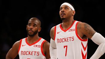 Melo warned Paul to 'be careful' with Rockets