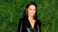 Katie Holmes steps out in a sexy all-leather look: 8 ways to incorporate leather into your spring wardrobe