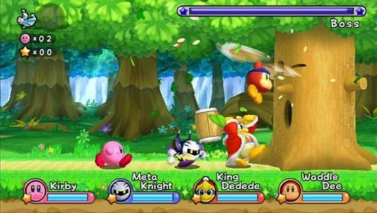 Kirby Wii preview: King Dedede, you, and me