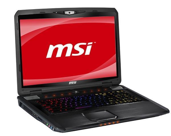 MSI gets a SteelSeries keyboard, builds the GX780 gaming notebook around it