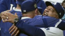 Granderson: The baseball gods smiled again on Dave Roberts, who now gets some L.A. respect