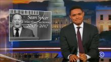 Late Night Hosts Hilariously Bid Farewell to Sean Spicer