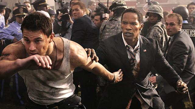 Channing Tatum and Jamie Foxx pit against terrorist forces in White House Down