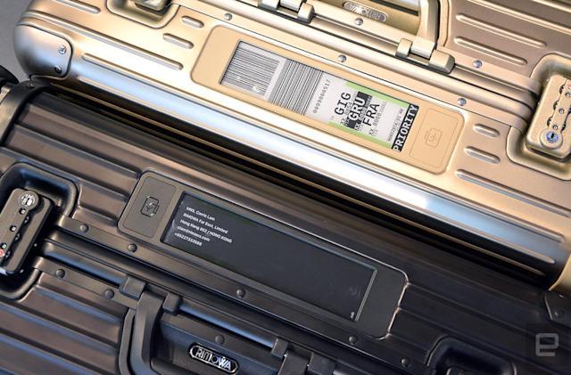 Rimowa's electronic luggage tag is the future of traveling