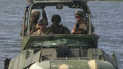 Female Navy Sailors Ready for Front Lines
