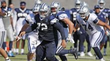 Cowboys' Trysten Hill fined twice for hits against Seattle Seahawks