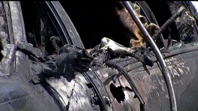 Everyone Escapes Alive After Limo Bursts Into Flames