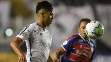 Santos sai na frente, mas cede empate para o Fortaleza em casa