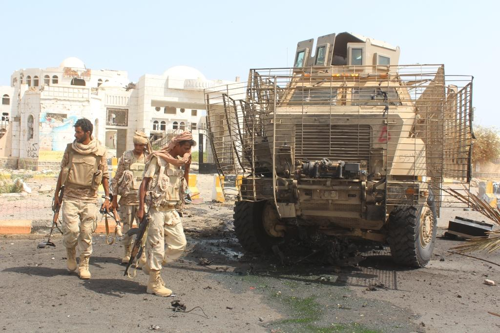 Earlier this month, Yemeni government forces backed by a Saudi-led coalition entered Abyan's provincial capital Zinjibar (AFP Photo/Saleh al-Obeidi)