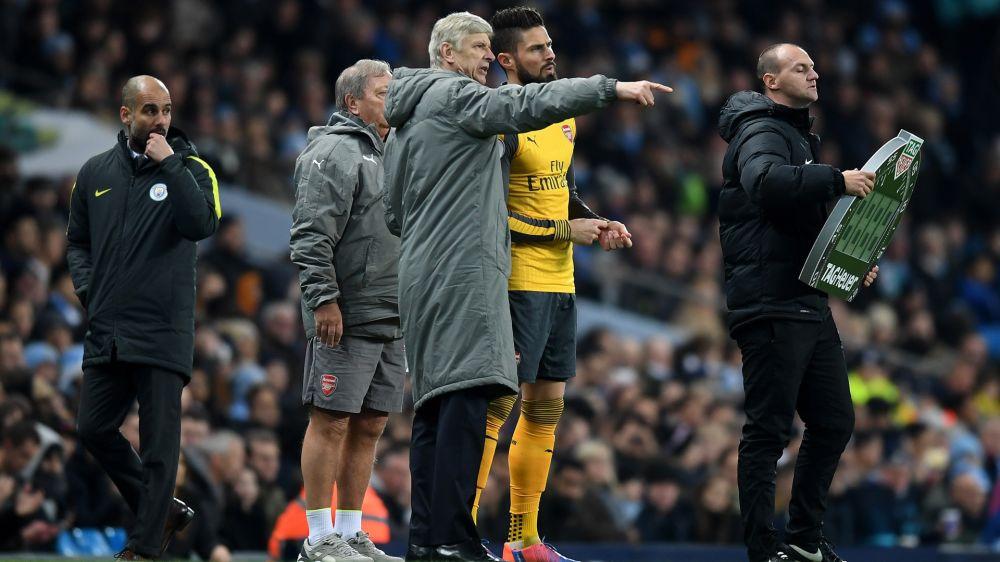 """Arsenal-Coach Wenger: """"Giroud steht nicht zum Verkauf"""""""