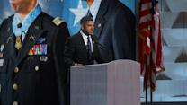 Ret. US Army Capt. Florent Grobert Speaks at the Democratic National Convention