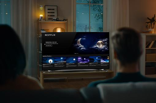 Sleep better and de-stress at night with Restflix