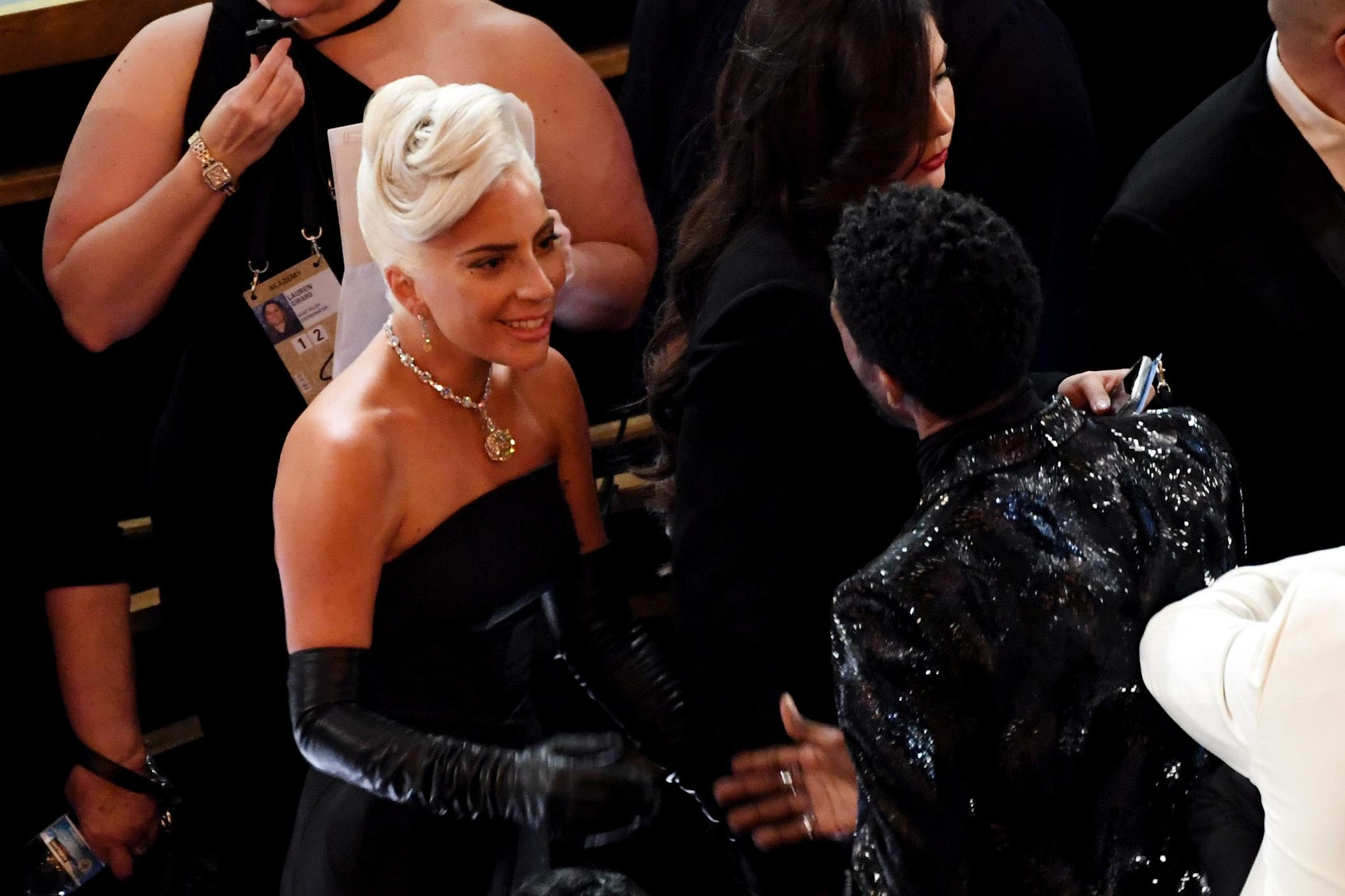 HOLLYWOOD, CALIFORNIA - FEBRUARY 24: Lady Gaga during the 91st Annual Academy Awards at Dolby Theatre on February 24, 2019 in Hollywood, California. (Photo by Kevin Winter/Getty Images)
