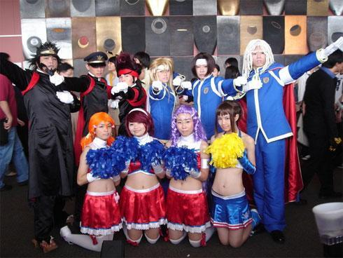 Ouendan cosplay performance grooves Singapore