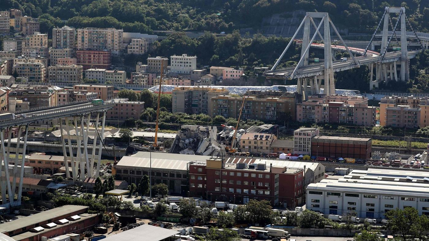Dramma sul ponte morandi a genova 39 morti accertati il for Camino sul ponte rialzato
