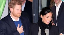 Meghan Markle and Prince Harry Jet Out of Rome Ahead of Their Royal Tour