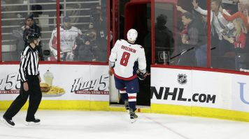 Ovi ejected for mocking ref in Game 6 loss