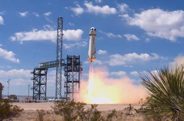 Blue Origin completes its highest-ever test flight