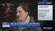 Blockchain and crypto a big theme at Davos